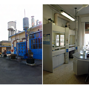 Maintenance area &  Chemical lab.